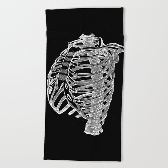 Ribcage Beach Towel