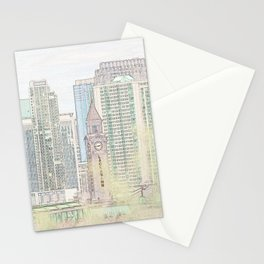 Lackawanna - Hoboken Terminal Stationery Cards