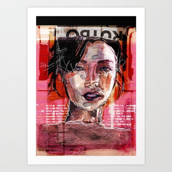SENSUAL EVERAFTER Art Print