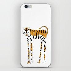 Long legs Tiger iPhone & iPod Skin