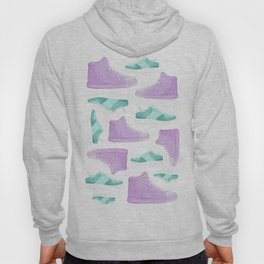 WATER, COLORS AND SNEAKERS Hoody