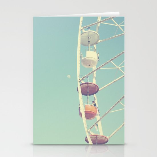 Touch the Moon Stationery Cards