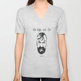 No Ego. We Go. (Wim) Inspired by Wim 'The Iceman' Hof Unisex V-Neck