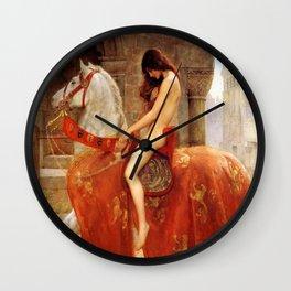 John Maler Collier's Lady Godiva Wall Clock