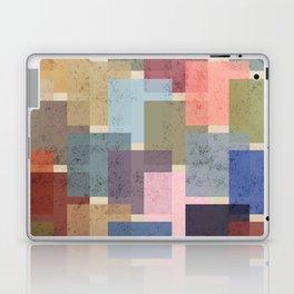 Vintage Colorful Squares Laptop & iPad Skin