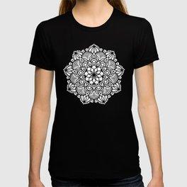 Mandala Mermaid Sea Pink by Nature Magick T-shirt