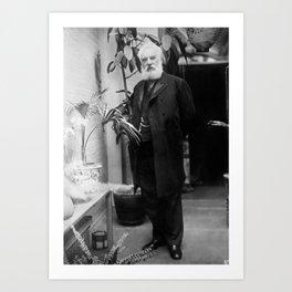 Alexander Graham Bell - Telephone Inventor Art Print