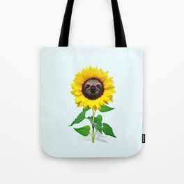 Slothflower Tote Bag