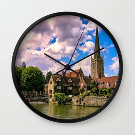 Along the Thames. Wall Clock