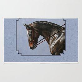 Brown Dressage Horse Rug