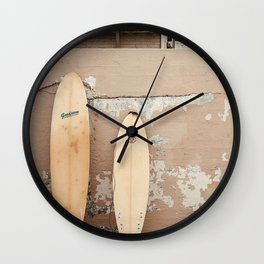San Diego Surfing Wall Clock