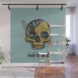 Death where is thy sting Wall Mural