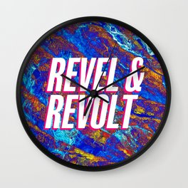 Revel & Revolt Wall Clock