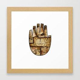 Bill's Hand Framed Art Print