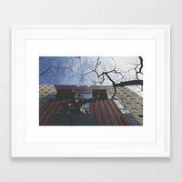 portlandia Framed Art Prints featuring Portlandia by Skyler Jordan