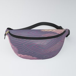Cloud Pattern Fanny Pack