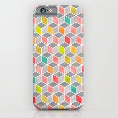 Block Party Bright iPhone 6s Slim Case
