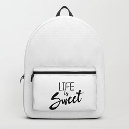 Life is Sweet Backpack