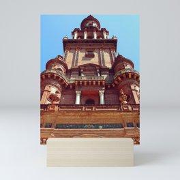 North Tower face Mini Art Print