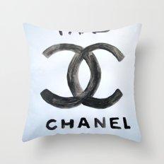 ''FAKE'' Throw Pillow