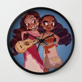 It's Our Time Wall Clock