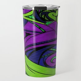 Birthing Life (Purple) Travel Mug