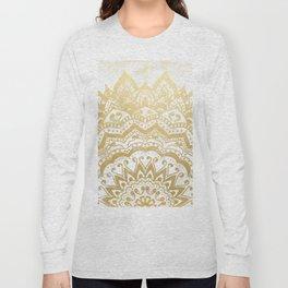 GOLD ORION JEWEL MANDALA Long Sleeve T-shirt