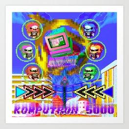 Komputron 5000 Art Print