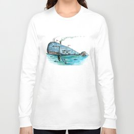 Steamboat Whale Long Sleeve T-shirt