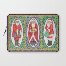 Three Santas Laptop Sleeve