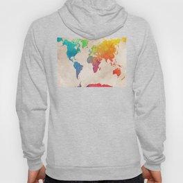 world map 21 #map #maps #world Hoody