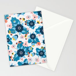 Summer Bright Graphic Floral Stationery Cards