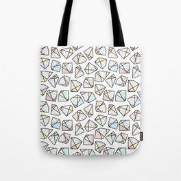 Polygonal stones and gemstones Tote Bag