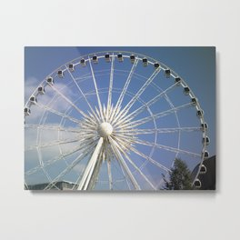 Wheel of Liverpool by FGW Metal Print