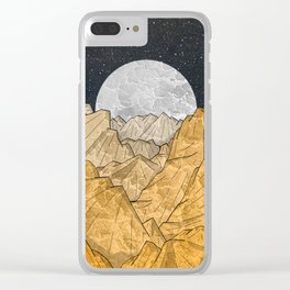 Copper Mounts Clear iPhone Case