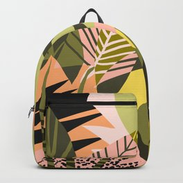 A Flower Blooms Best in a Happy Pot #painting #illustration Backpack