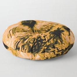 Sea Otter Floor Pillow