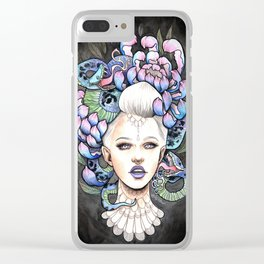 Snake Head Clear iPhone Case