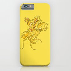 the Yellow Kracken Slim Case iPhone 6s