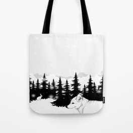 Arctic Animals - Arctic Tundra Tote Bag