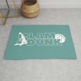 Slam Dunk (white) Rug