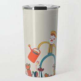 In Flowers Travel Mug
