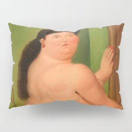 Botero nude woman Pillow Sham
