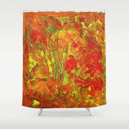 Summer doodle Shower Curtain