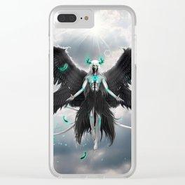 Tormenta De Murcielago Clear iPhone Case