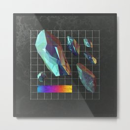 Crystalmatrix Metal Print
