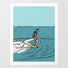 Surf Series   Slipnslide Art Print