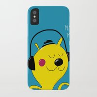 dj iPhone & iPod Cases featuring dj by Sucoco