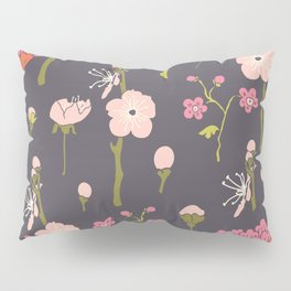 Chinoiserie Twigs Pillow Sham