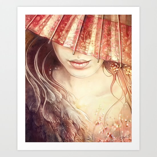 Japanese Dream Art Print
